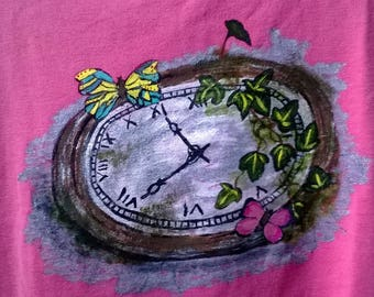 """""""In search of lost time"""" on short sleeve t-shirt"""