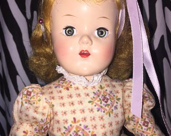 Unmarked 1950s Ideal Type Doll