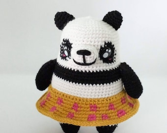 Woollen Panda / Panda amigurumi