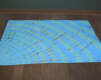 39x75 Blue Tapestry