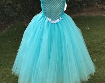 Cinderella inspired tutu dress