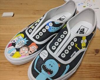 Custom Canvas Shoe Design