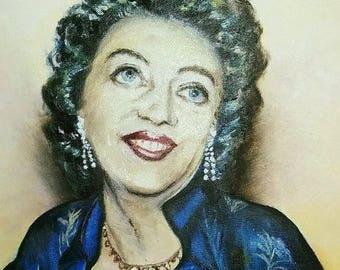 Berta, glamorous lady