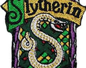 Harry Potter Slytherin 4 Inch Sew On or Iron On Application Applique Patch