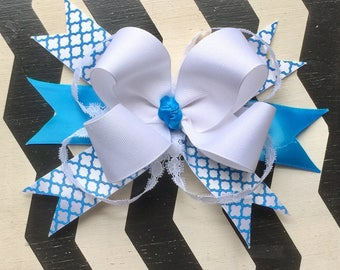 Morracan Blue Jay Bow