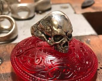 Skull Handmade Silver Ring
