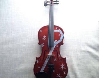 Handpainted Violin