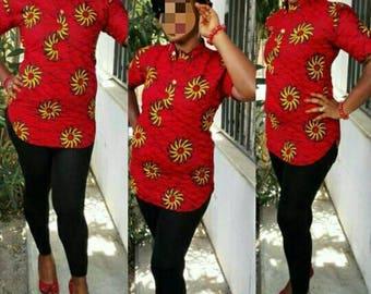 African print shirt by shbabe