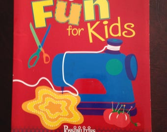 The Best of Sewing Machine Fun for Kids ~ How to Book
