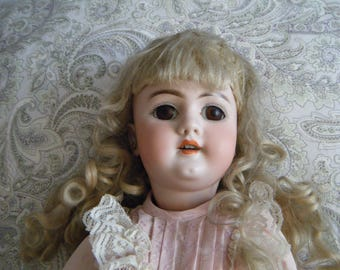 Leah antique porcelain doll by Handwerck