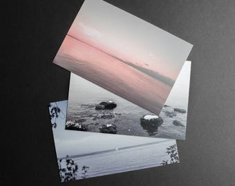 Set of 3 postcards - Lac St-Jean