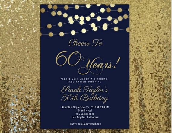 60th birthday invitations any age cheers to 60 60th birthday il570xn filmwisefo