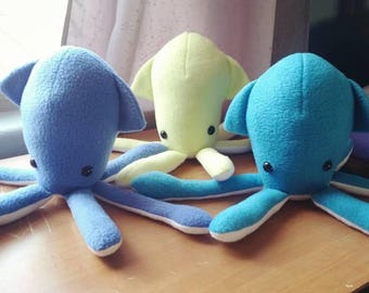 Squid Plush (LISTING FOR ONE)