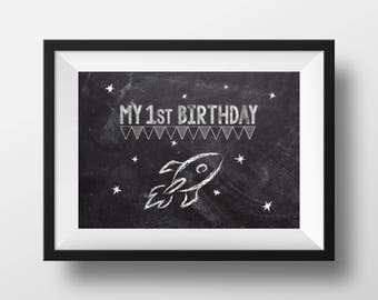 My 1st Birthday | Space