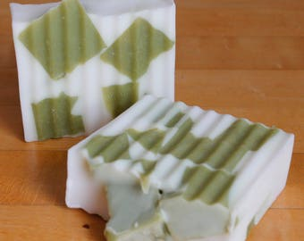 Mosaic Apple Sage Homemade Soap