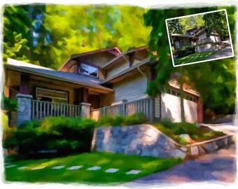 Digital Custom House Painting