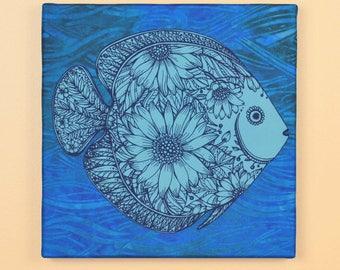 Floral Fish