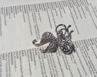Butterfly Bow Brooch