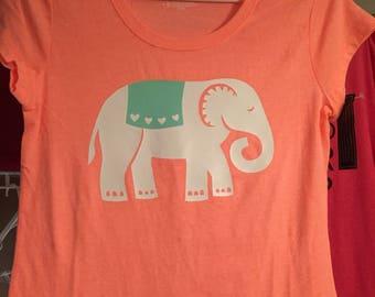 Girls Elephant Top