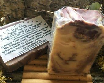 100% Olive Oil Soap – Callendula and Lemongrass