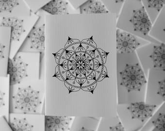 Hand Designed Mandala Card 2