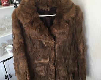 Vintage fur jacket