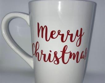 Merry Christmas Coffee Mug *** Great Christmas Gift***