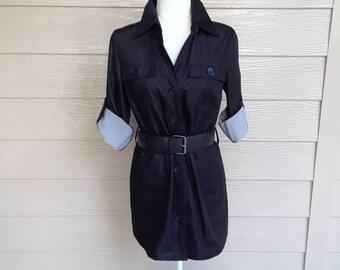 Classic Shirt Waist Dress