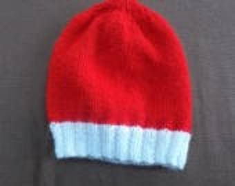 Round hat for baby size 3 months