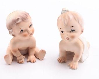 Vintage Napcoware Baby Figurines