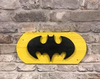 Handmade Batman Sign