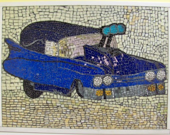 Mosaic Pro Mod Roadster Blue Cadillac Hearse