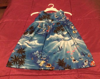 Underwater Girl Sundress size 3