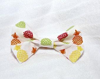 Pineapple Dog Bow