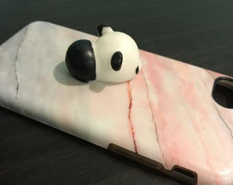 Squishy Panda Marble Phone Case - Iphone 7