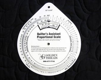 Quilter's Assistant Proportional Scale by Golden Threads FREE SHIPPING