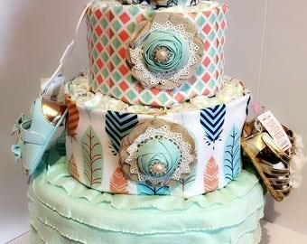 Basic Diaper Cake