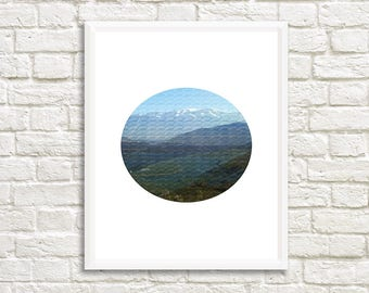 Abstract Print ,Nature photography, Circle Print ,Instant Download