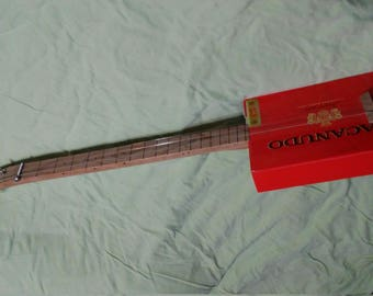 Cigarbox guitar (electric)