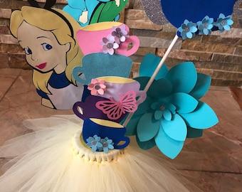 Inspired by Alice in Wonderland - Centerpiece.