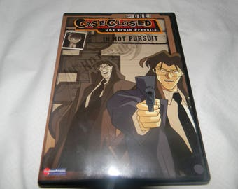 anime dvd ,case closed in hot pursuit