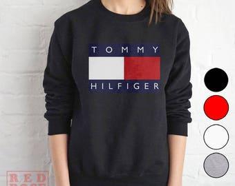 Vintage Style Tommy Hilfiger Crewneck Inspired Unisex Sweatshirt