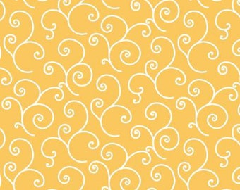 Yellow Scroll, Kimberbell Basics by Kim Christopherson Collection 170056