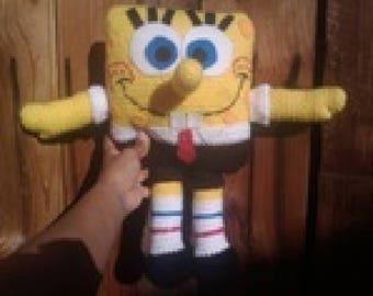 spongebob teddy bear toy crochet pattern