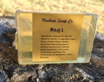 Natural Frankincense and Myrrh soap