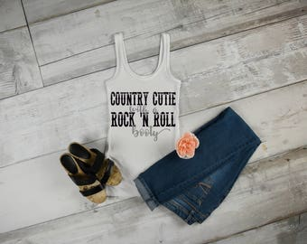 Country Cutie With A Rock-n-Roll Booty