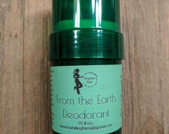 All-Natural Deodorant- From the Earth
