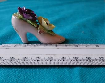 Adorable vintage Miniature Five Towns China Shoe