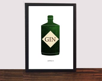 Gin and Bear it Poster