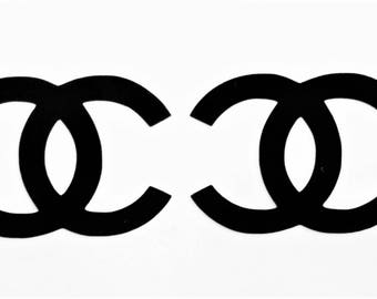 30 Chanel stickers Chanel decals Designer decal Designer logo